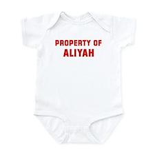 Property of ALIYAH Infant Bodysuit