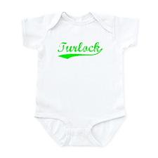 Vintage Turlock (Green) Infant Bodysuit