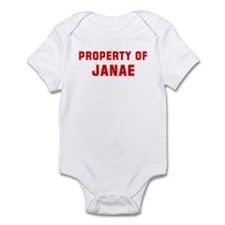 Property of JANAE Infant Bodysuit