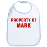 Property of MARK Bib