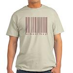 Urban Boy Brown Barkode Neo Ash Grey T-Shirt