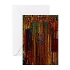 ABSTRACT PAINTING ~ Gasoline I: Greeting Cards (Pk