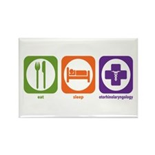 Eat Sleep Otorhinolaryngology Rectangle Magnet (10