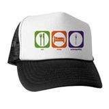 Eat Sleep Osteopathy Trucker Hat
