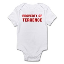 Property of TERRENCE Infant Bodysuit