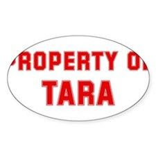Property of TARA Oval Decal