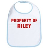 Property of RILEY Bib