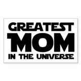 Greatest Mom Rectangle Decal