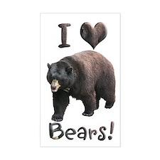 Helaine's American Black Bear Decal