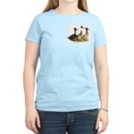 Crested Ducks Trio Women's Light T-Shirt