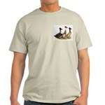Crested Ducks Trio Light T-Shirt