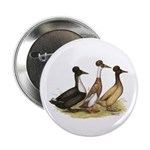 """Crested Ducks Trio 2.25"""" Button (100 pack)"""