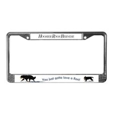 Hoosier Roos License Plate Frame