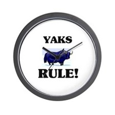 Yaks Rule! Wall Clock