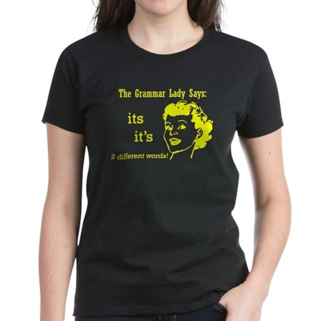 It's and Its Women's Dark T-Shirt