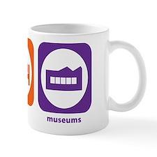 Eat Sleep Museums Mug