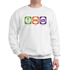 Eat Sleep Museums Sweatshirt
