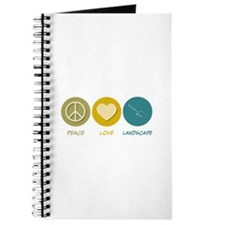 Peace Love Landscape Journal
