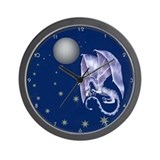 Cute Dragons Wall Clock