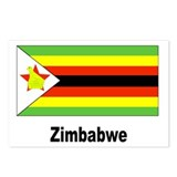 Zimbabwe Flag Postcards (Package of 8)
