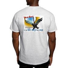 The Nite Owl Ash Grey T-Shirt