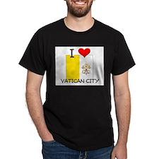I Love Vatican City T-Shirt
