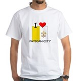 I Love Vatican City Shirt