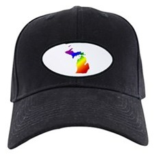 Michigan Gay Pride Baseball Hat