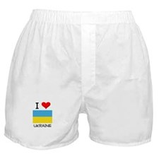 I Love Ukraine Boxer Shorts