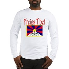 German Free Tibet Long Sleeve T-Shirt