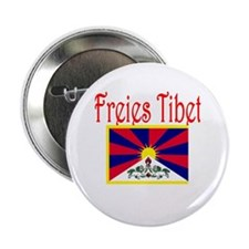 "German Free Tibet 2.25"" Button"