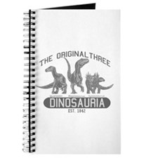 Grayscale Dinosauria Journal