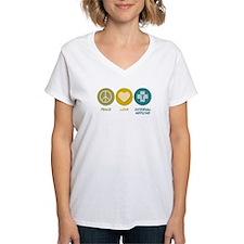Peace Love Internal Medicine Shirt