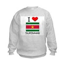 I Love Suriname Sweatshirt