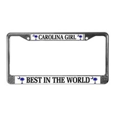 Carolina Girl License Plate Frame
