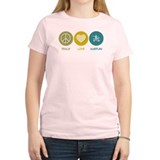 Peace Love Hurdles T-Shirt