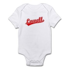 Retro Lowell (Red) Infant Bodysuit