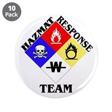 "HAZMAT Response Team 3.5"" Button (10 pack)"