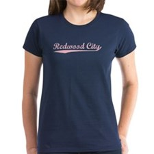 Vintage Redwood City (Pink) Tee