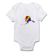Alaska Gay Pride Infant Creeper