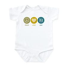 Peace Love Hike Infant Bodysuit