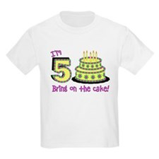 Fifth Birthday T-Shirt