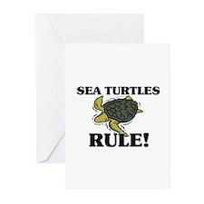 Sea Turtles Rule! Greeting Cards (Pk of 10)