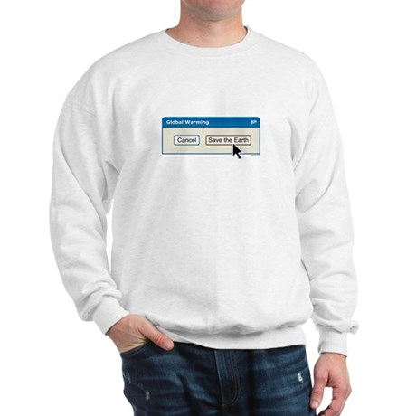 Save The Earth - PC version Sweatshirt