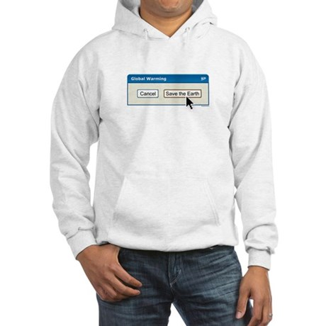 Save The Earth - PC version Hooded Sweatshirt