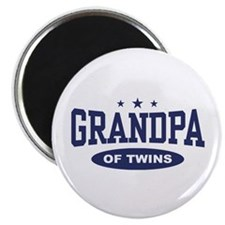 Grandpa of Twins Magnet