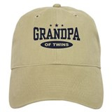 Grandpa of Twins Cap