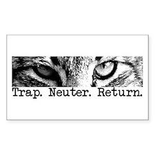 Trap. Neuter. Return. Rectangle Sticker 10 pk)