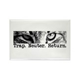 Trap. Neuter. Return. Rectangle Magnet (100 pack)