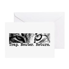 Trap. Neuter. Return. Greeting Card